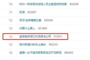 #起底南京禄口机场保洁公司#上热搜背后上海至诚公司引关注网友呼吁请善待员工